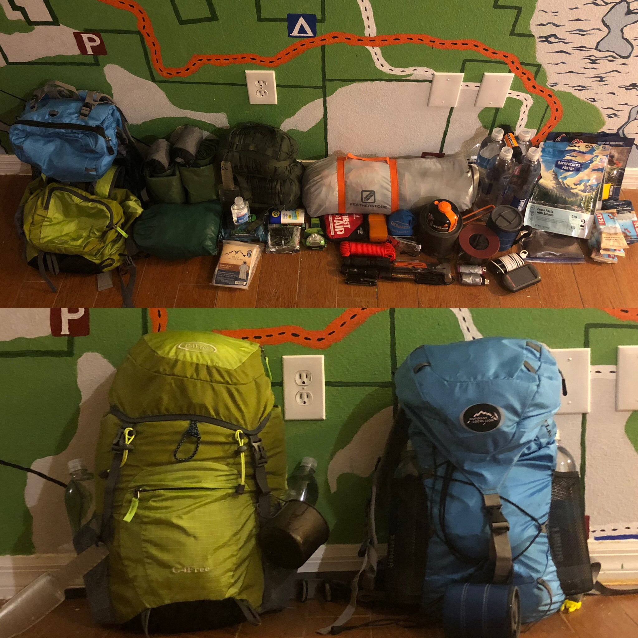 Dating while backpacking